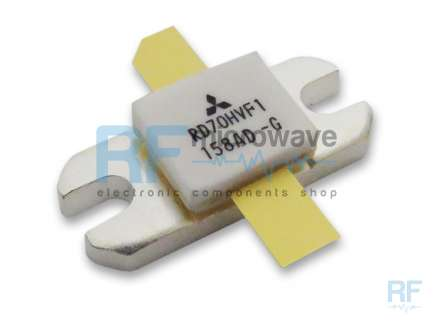 MITSUBISHI RD70HVF1 RF silicon MOSFET power transistor, 12.5V, 75W, 20A
