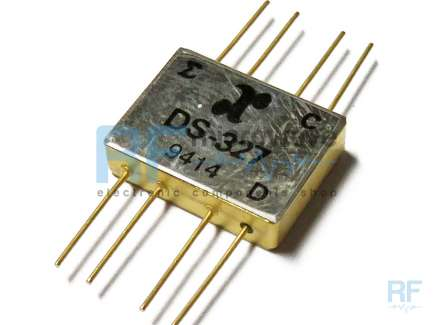 MA-COM Anzac DS-327 PIN 2-way power divider, 5 - 1000 MHz, 1W