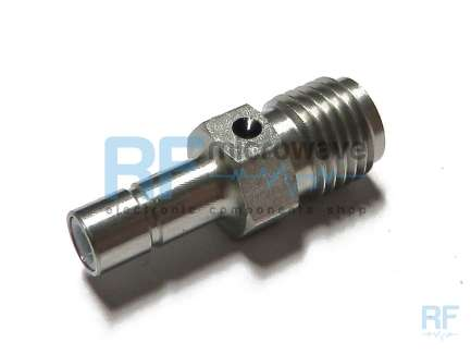 M/A-COM 5180-2240-00 SMA female to SMB jack coaxial adapter
