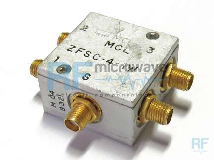 zfsc 4 1w s mini circuits 4 way coaxial power splitter combiner 10 500 mhz 1w buy on. Black Bedroom Furniture Sets. Home Design Ideas