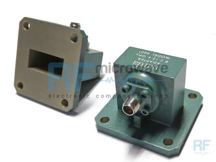 Narda 4601 Waveguide to coaxial adapter