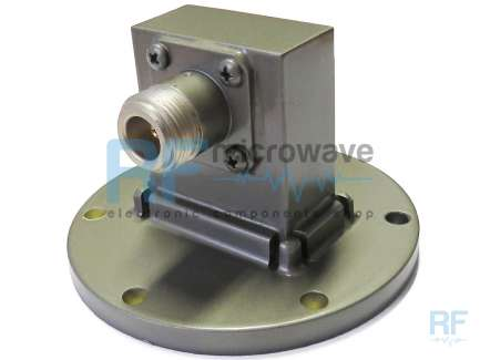 ATM 137-253A-6 Waveguide to coaxial adapter