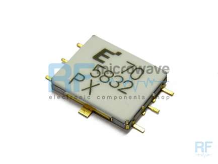Eudyna EMM5074VU Power amplifier MMIC, ceramic hermetic package