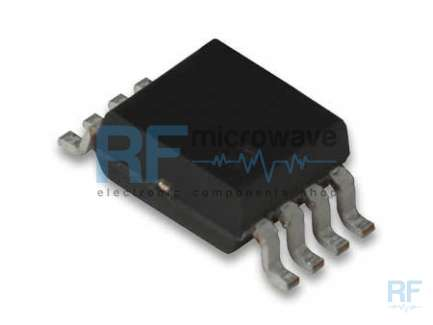 Analog Devices AD8310ARMZ Logarithmic amplifier integrated circuit, supply voltage 2.7 to 5.5V, 8-lead MSOP package