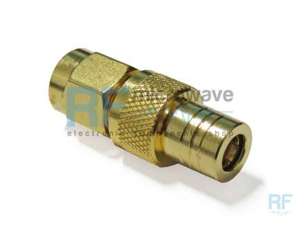 QAXIAL SMA-SMB41-01 SMA male to SMB plug coaxial adapter