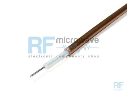 Semi-rigid coaxial cable
