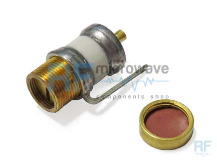 Johanson 8053 Air variable capacitor, 1.5 - 14 pF, 250V, with cap