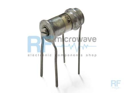 AFM Microelectronics Inc MPT51101A Air variable capacitor, 0.8 - 8.5 pF, 750V