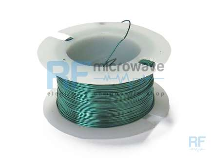 Enameled copper wire spool, ∅ 0.2 mm, AWG 32