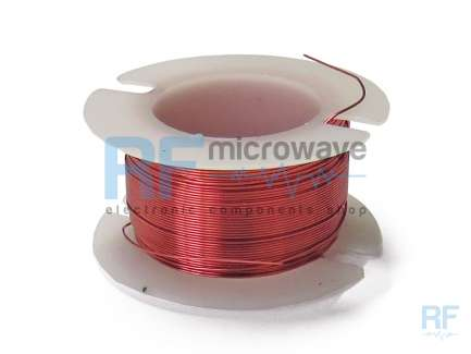 Enameled copper wire spool, ∅ 0.25 mm, AWG 30