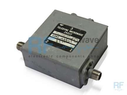 Teledyne T-2S63T-6 Isolatore coassiale 2000 - 4000 MHz, 20 W