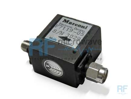 Marconi F7119-05 Coaxial isolator 4 - 7.5 MHz, 25 W