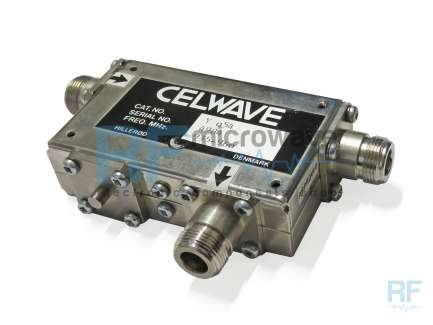 Celwave Y 054 Double coaxial circulator 930 - 1100 MHz, 50 W