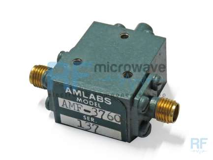 Amlabs AMF-3760 Coaxial isolator 7.8 - 12 GHz, 20 W